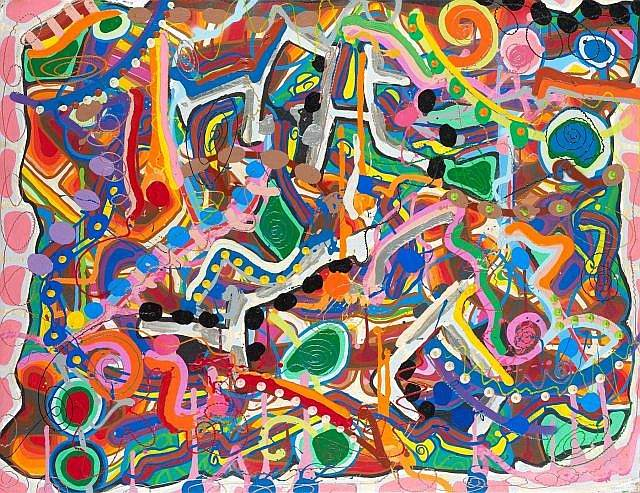 JonOne-Colors of a Lost Civilization-2001