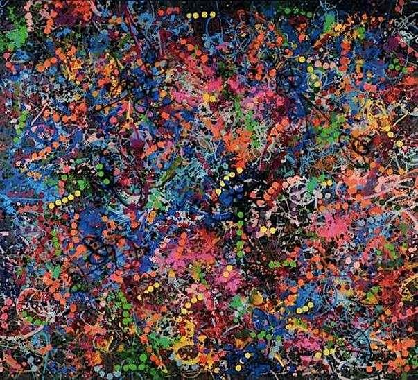 JonOne-Dark Splash-1991