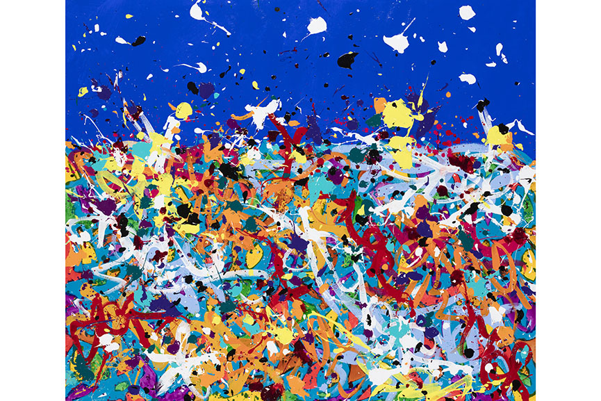 See new works by JonOne