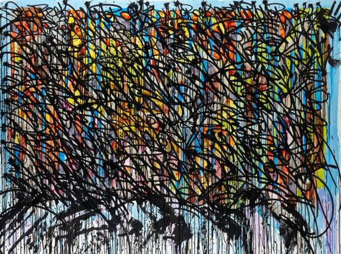 JonOne-Le Colours Du Bernard Buffet-2008