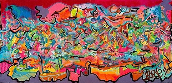 JonOne-Le Depart (MME. Protis)-1994