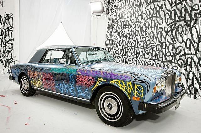 JonOne-Rolls Royce Modele Corniche-1984