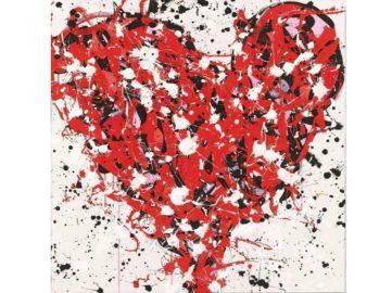 JonOne - Supplier of Love, 2014; valentine project for kids