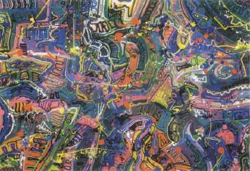 JonOne-Turmoil Down Below-1991