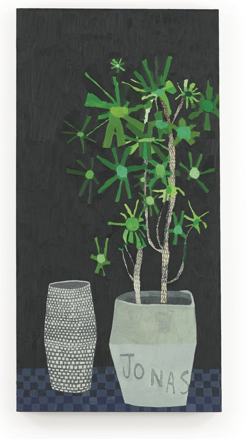 Jonas Wood-Untitled (Jonas Pot)-2007