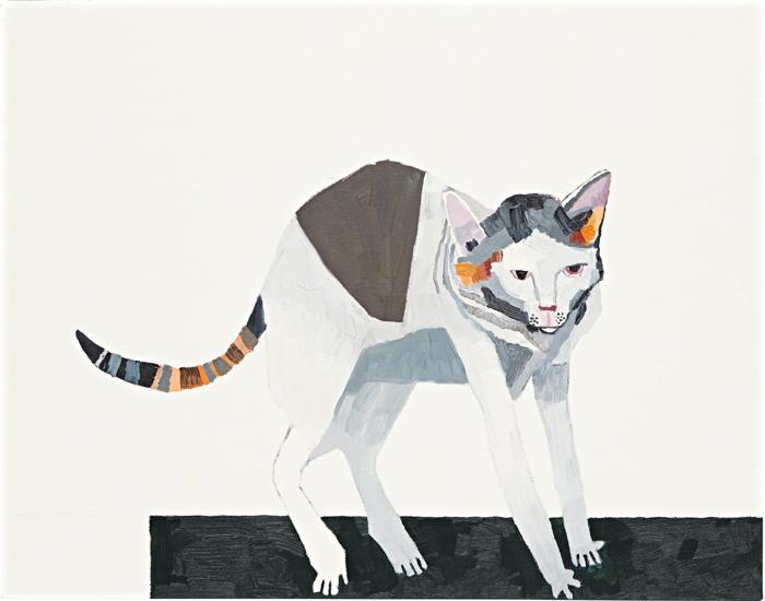 Jonas Wood-Untitled (Phoebe Study)-2008