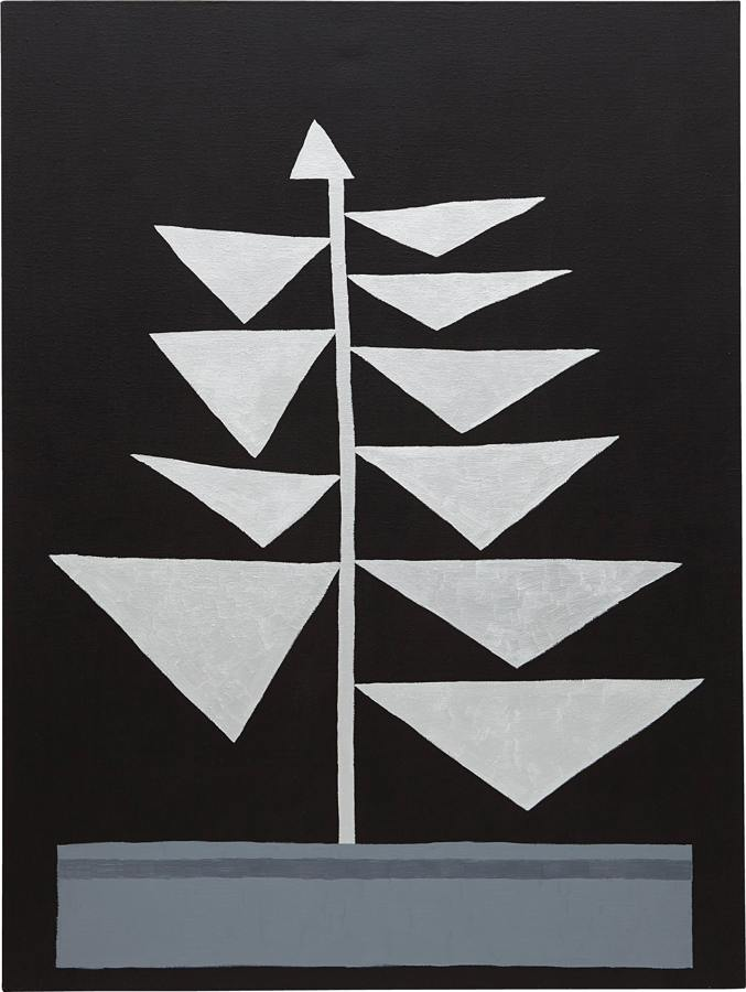 Jonas Wood-Untitled (Silver Tris)-2010