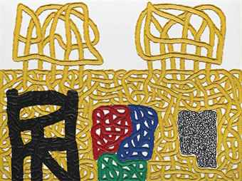 Jonathan Lasker-A Memory of the Wilderness for Domestic Animals-2004