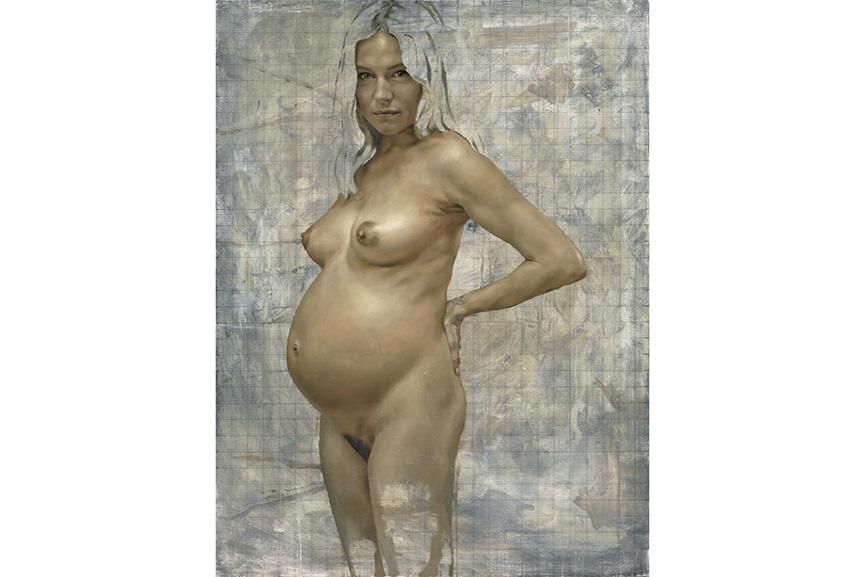 Jonathan Yeo - Sienna (Pregnant), 2012