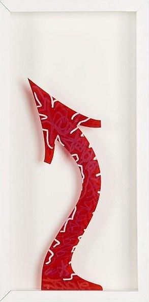 JonOne-Arrow (Red)-2011