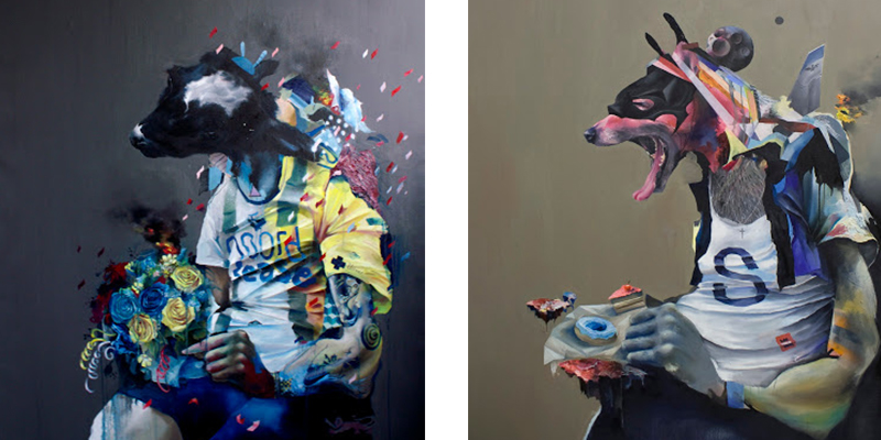 Joram Roukes - Fan, 2010 and Not Right Now, 2011