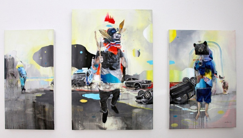 Joram Roukes - Where Boys Fear To Tread, 2013