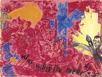 Jorg Immendorff-A.H. Was Willst Du Mehr?-1983