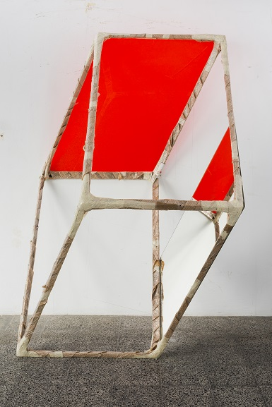 José siza Croft, lisbon expo 2015, iron and mirror, 220x 160x150 cm, photo Daniel Malhão, courtesy of the lisbon expo