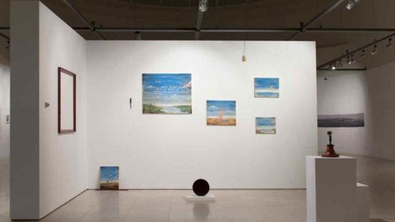 Jose Batista Marques - Paisagem, show at SNBA, Lisbon, 2017, installation view - photo credits of the artist