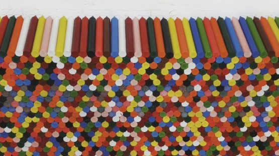 Jose Damasceno - Monitor (Crayon), 2012, photo Vicente de Mello