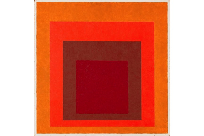 Josef Albers - Affectionate (Homage to the square), 1954