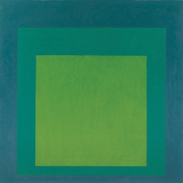 Josef Albers-Homage To The Square-1958