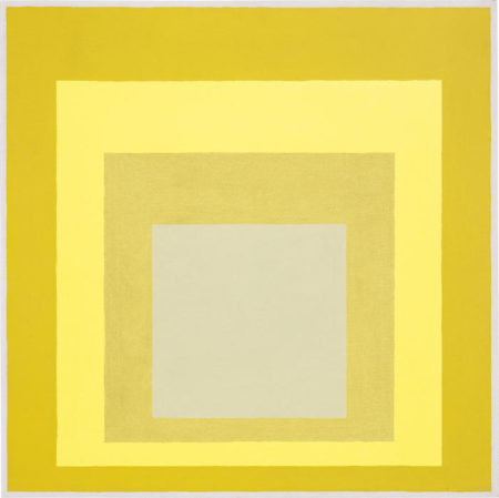 Josef Albers-Homage to the Square: Wide Sight (Study)-1963