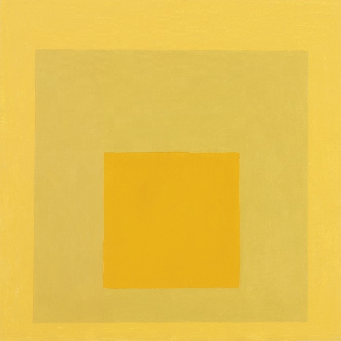 Josef Albers-Study For Homage To The Square: Resonant A-1964