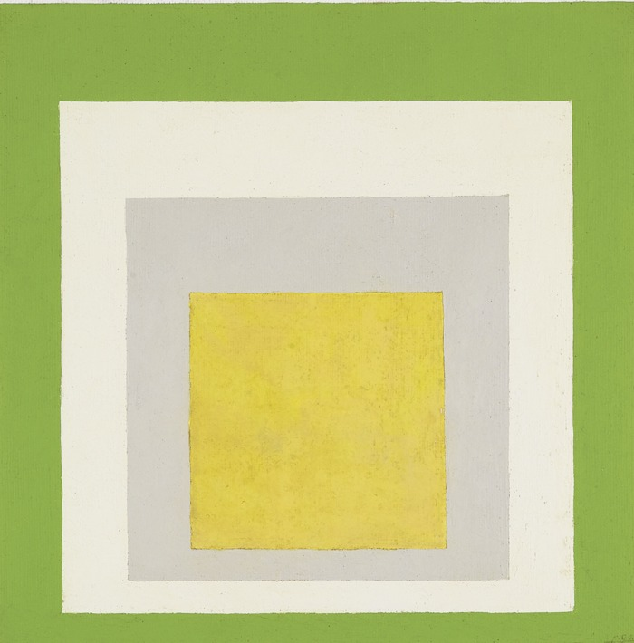 Josef Albers-Study To Homage To The Square - May-1956