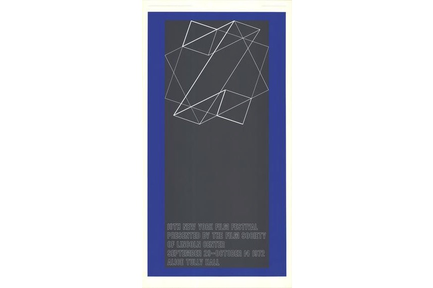 Josef Albers - The 10th New York Film Festival, 1972
