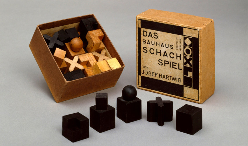 Josef Hartwig - The Chess Set, 1922. Image via eyemagazine.com