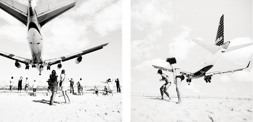Josef Hoflehner - Jet Airliner #70 (Left) - Jet Airliner #69 (Right)