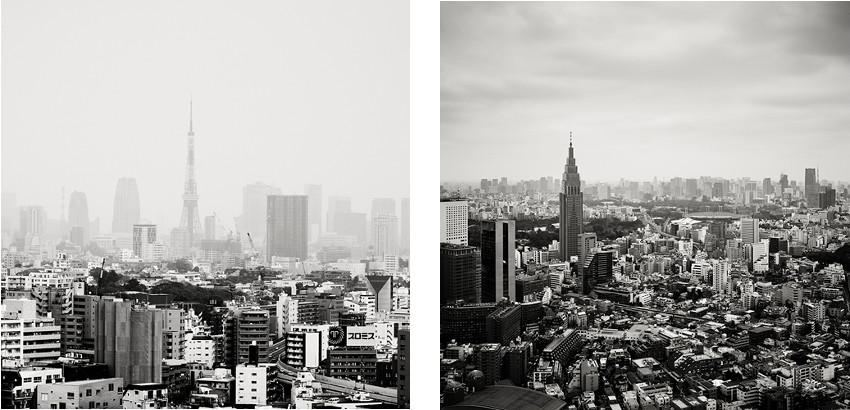 Josef Hoflehner - Tokyo Tower II - Tokyo, Japan, 2009 - Yoyogi - Tokyo, Japan, 2012 - copyright © Josef Hoflehner