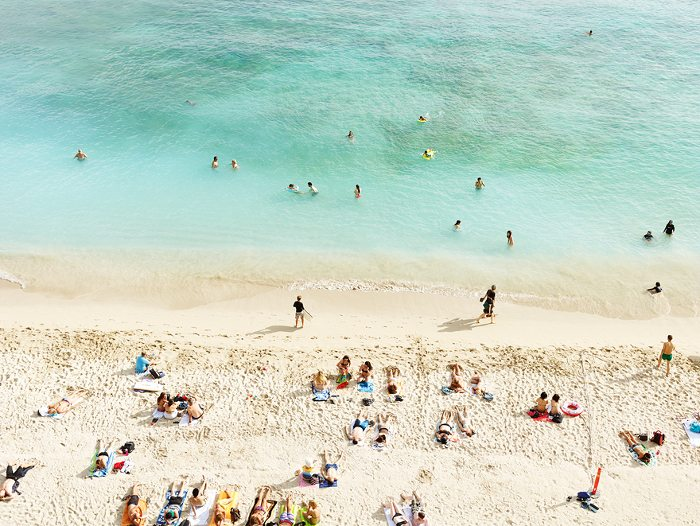 Josef Hoflehner - Waikiki Beach, Study 2, Honolulu, Hawaii, 2014