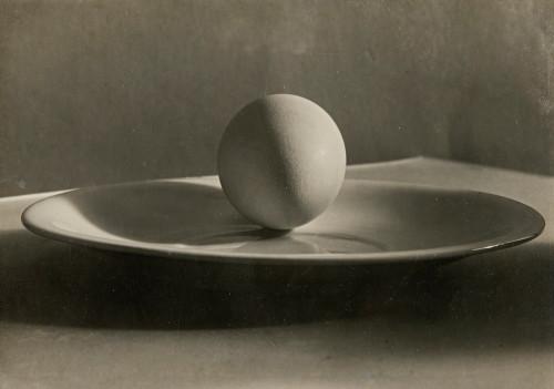 Josef Sudek-Egg on Plate-1955