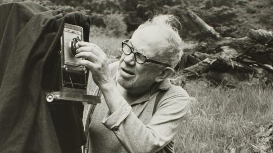 Josef Sudek in Mionsi Forest, 1970