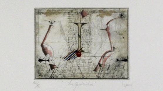 Josef Werner - Die Geistreichen - image courtesy of Sylvan Cole gallery