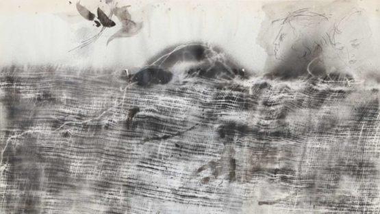 Josep Grau-Garriga - Landscape with Sunrise, 1976 (detail)