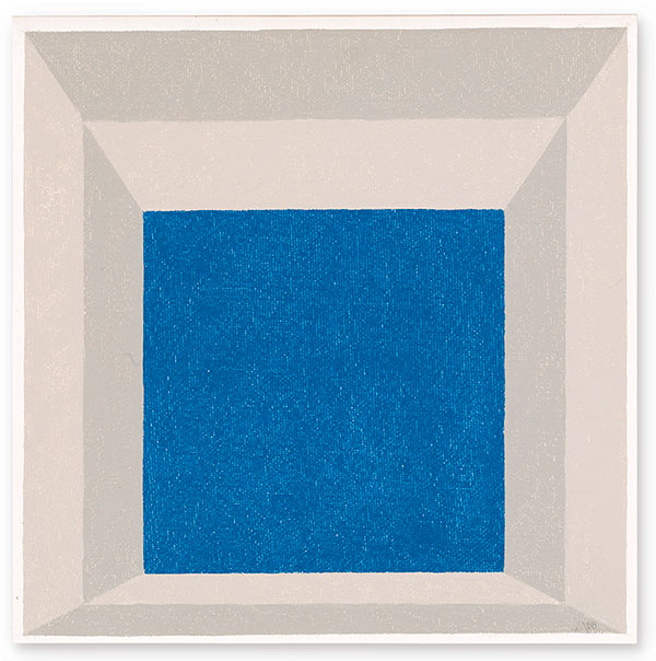 Josef Albers-Study For Homage To The Square: Framed Sky A-1968