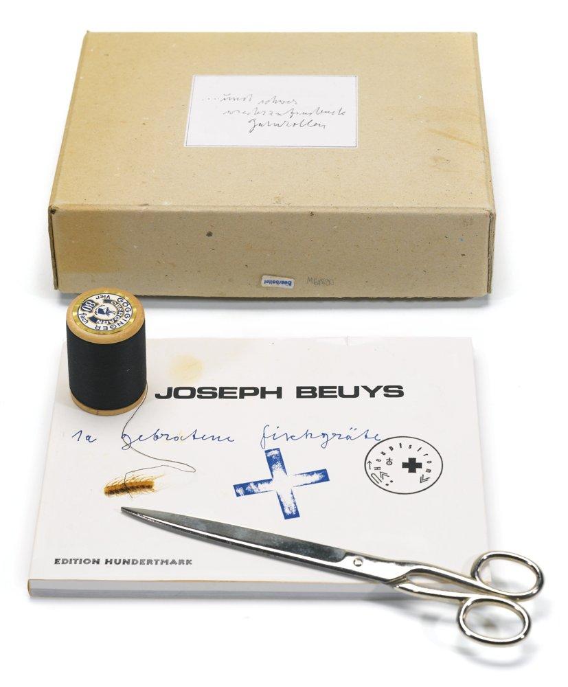 Joseph Beuys-... Und Schwer Wiederzufindende Garnrollen-1982