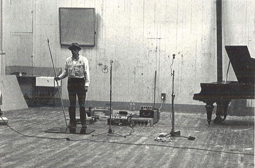 Joseph Beuys  - Celtic (Kinloch Rannoch) Felt Scottish Symphony - Image via ecaedacuk