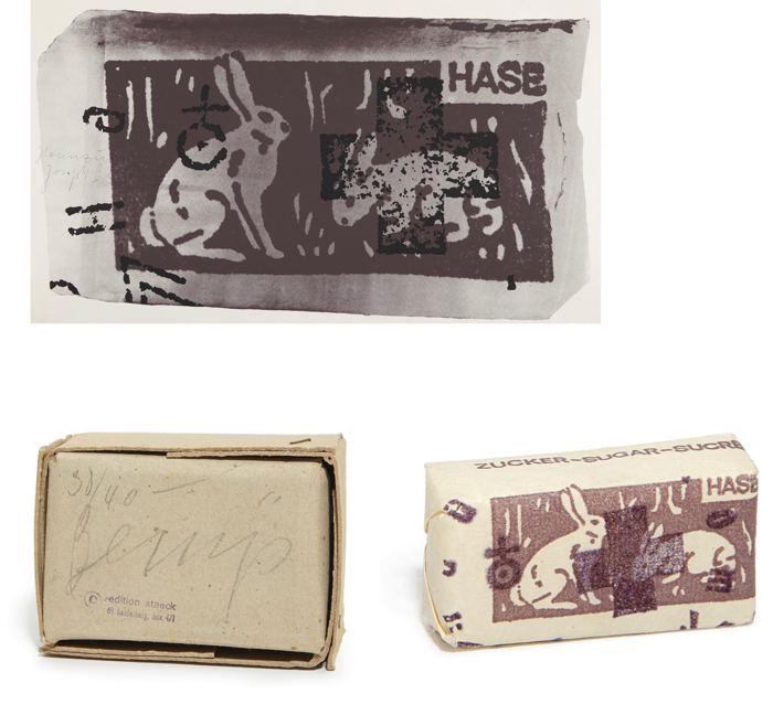 Joseph Beuys-Hare Sugar-1972