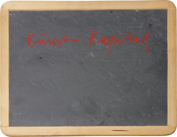 Joseph Beuys-Kunst = Kapital-1980