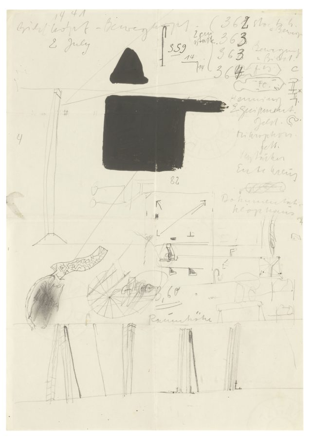 Joseph Beuys-Notes For Action-1967