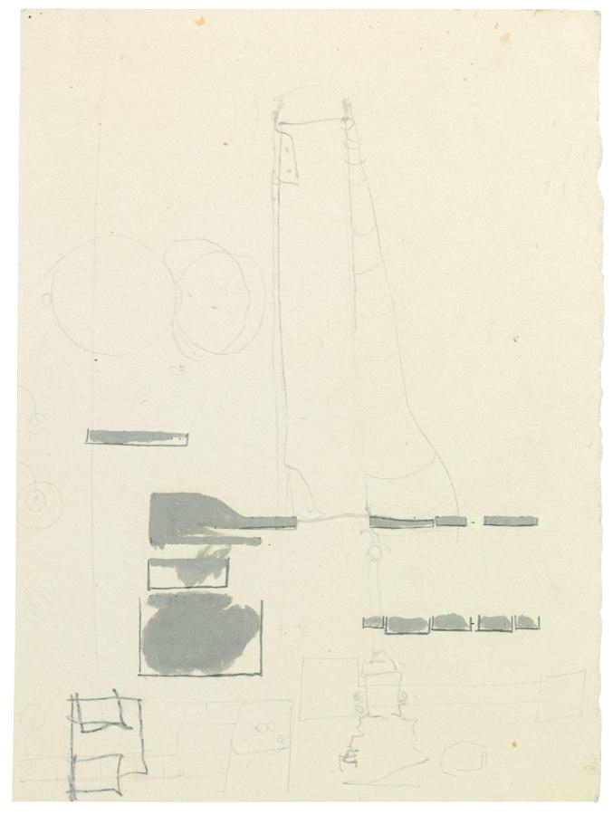 Joseph Beuys-Untitled-1957