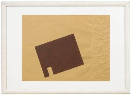 Joseph Beuys-Untitled (Braunkreuz)-1962