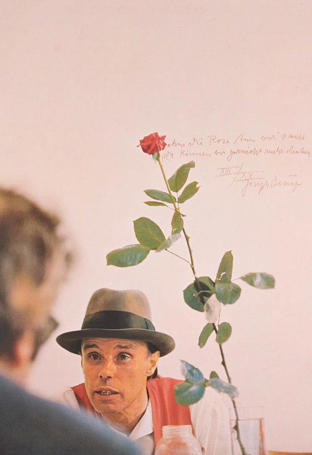 Joseph Beuys-We Won't Do It without the Rose (Ohne Die Rose Tun Wir's Nicht)-1973