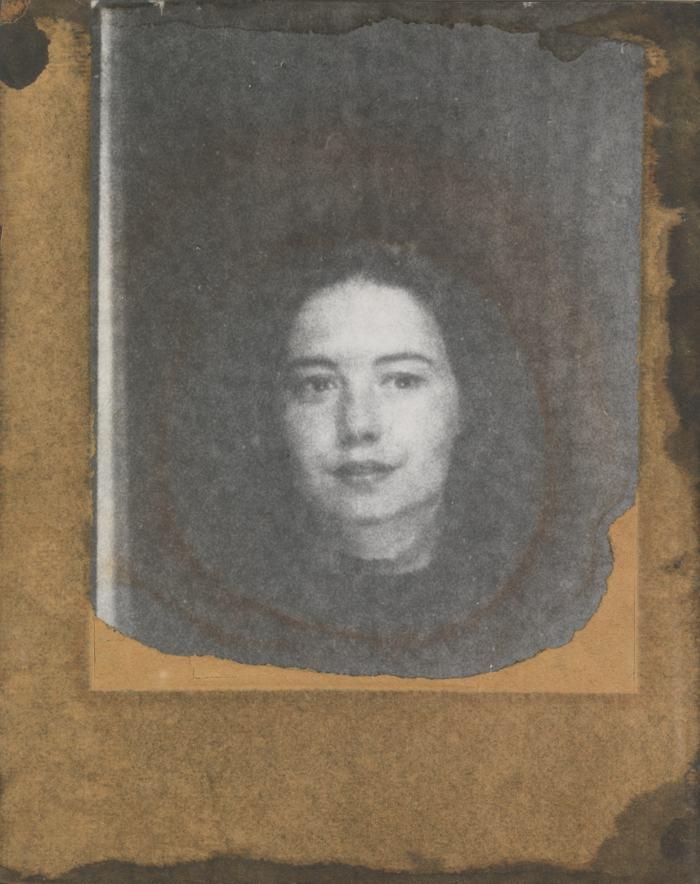 Joseph Cornell-Portrait Of Suzanne-1969