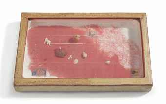 Joseph Cornell-Untitled (Red Sand Box)-1955