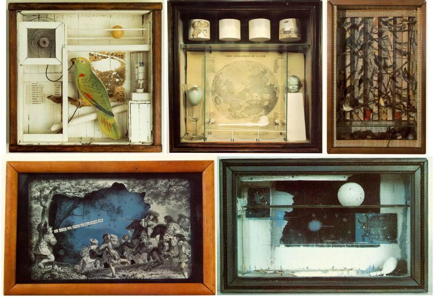 Joseph Cornell - Various Boxes