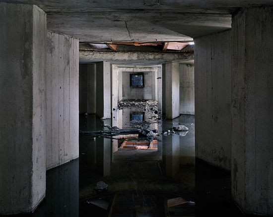 Joseph Hartman - Deconstruction, Tiffen 4, Midland, ON, 2007 - Image Copyright  by Joseph Hartman, Courtesy of Stephen Bulger Gallery