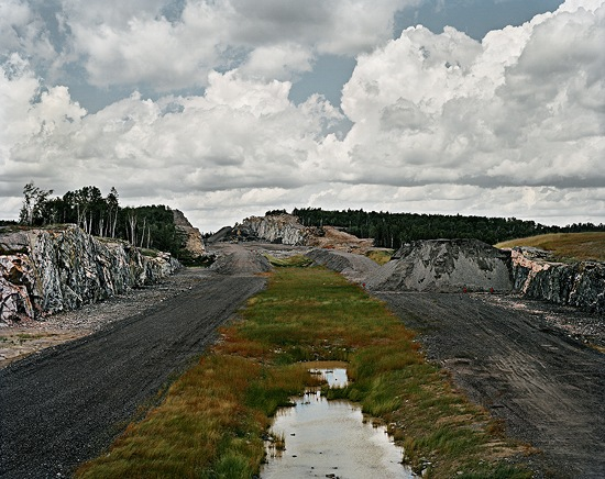 Joseph Hartman - Highway 69 Construction, Marsh, Sudbury, ON, 2009 - Image Copyright by Joseph Hartman, Courtesy of Stephen Bulger Gallery
