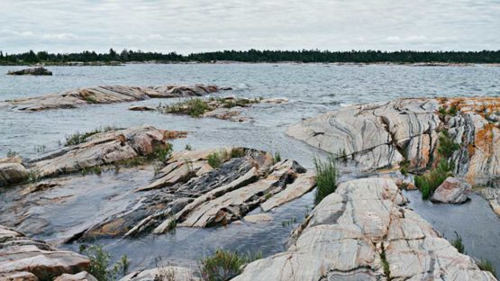 Joseph Hartman - Outer Shoals, Georgian Bay, ON, 2014 (Detail) - Image Copyright Joseph Hartman, Courtesy of Stephen Bulger Gallery