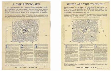 Joseph Kosuth-A que punto sei? (Where Are You Standing?)-1976